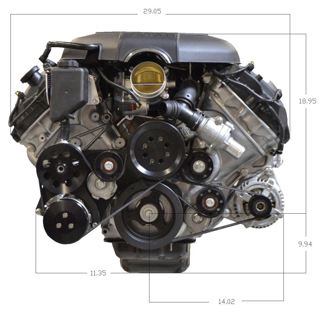 Ford Racing Parts: Mustang Power Packs, Crate Engines, Motors