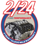 Click here for Ford Racing OEM Limited Warranty Details