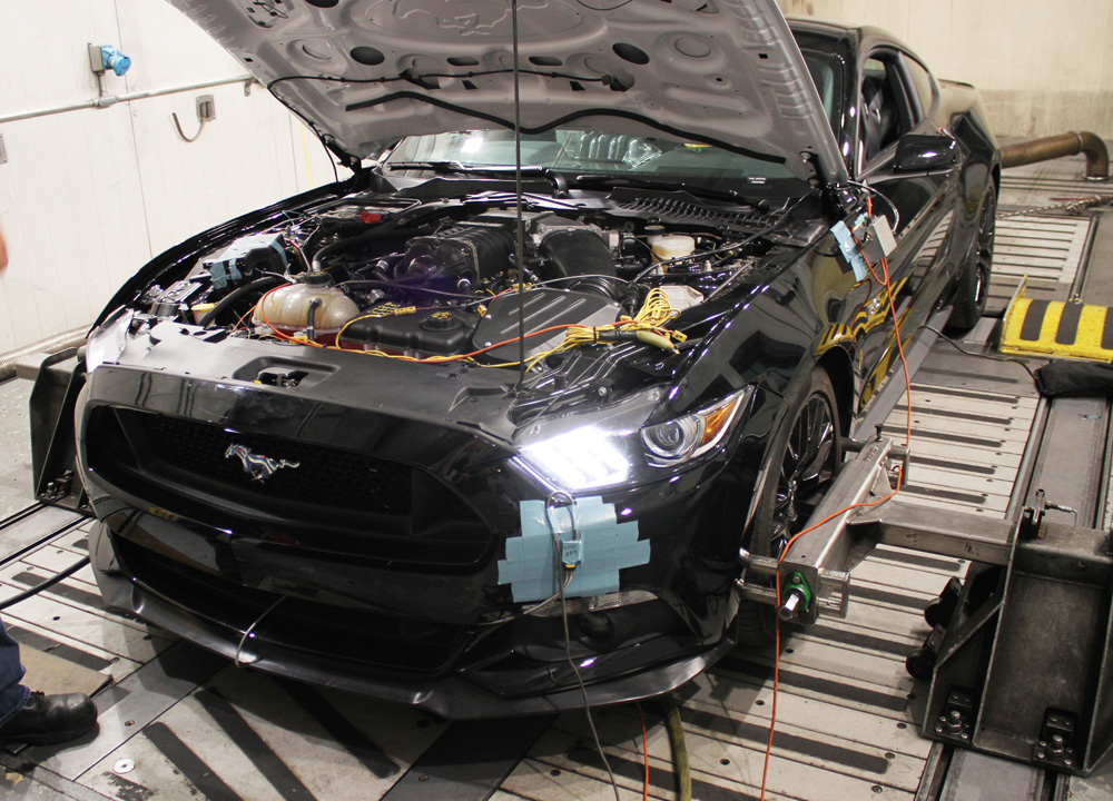 Ford Racing Climate Testing the 2015 Mustang GT Supercharger Kit